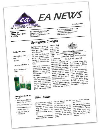 EA News October 2018